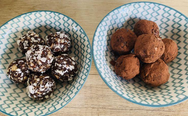 Choco-noten ballen